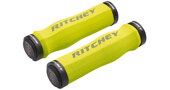 Ritchey WCS Ergo True Grip Handtag Lock-On gul